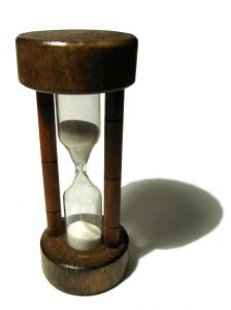 Procrastination is really just determination once nearly all the sands are through the hourglass