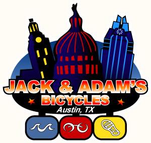 Jack & Adam's Bicycles Logo