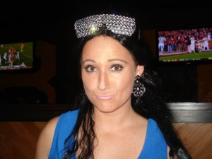 Halloween as Snooki from Jersey Shore