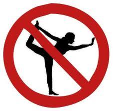 Yoga, more like no-ga