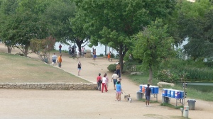 RunTex Water Station on Austin's Town Lake
