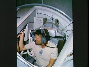 Astronaut in the Cockpit