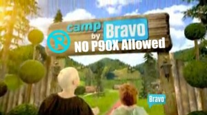 Bravo Summer Camp Sign