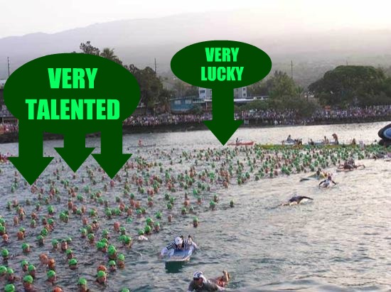 Ironman World Championship Start