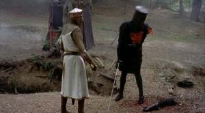 Monty Python and the Holy Grail - The Black Knight